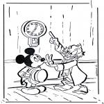 Ausmalbilder Comicfigure - Onkel Dagobert 1