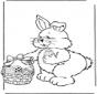 Osterhase mit Eier 2