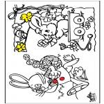 Ausmalbilder Themen - Ostern 12