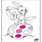 Ausmalbilder Themen - Ostern 5