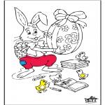 Ausmalbilder Themen - Ostern 6