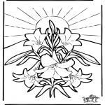 Bibel Ausmalbilder - Ostern Bibel 2