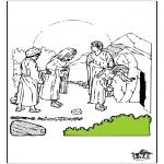 Bibel Ausmalbilder - Ostern Bibel 5