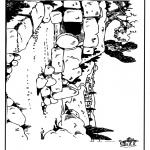 Bibel Ausmalbilder - Ostern Bibel 6