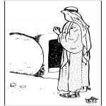 Bibel Ausmalbilder - Ostern Bibel 8