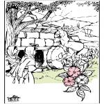 Bibel Ausmalbilder - Ostern Bibel 9