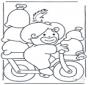 Peter auf Fahrrad