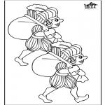 Basteln Stechkarten - Peter Malen 2