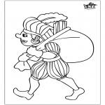 Basteln Stechkarten - Peter Malen 3