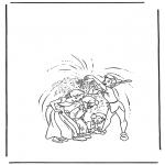 Ausmalbilder Comicfigure - Peter Pan 2
