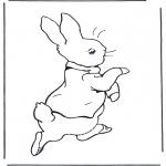 Allerhand Ausmalbilder - Peter Rabbit