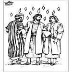 Bibel Ausmalbilder - Pfingsten 3