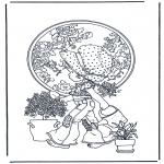 Allerhand Ausmalbilder - Pflanzen Wasser geben