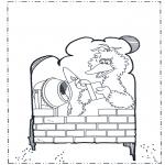 Ausmalbilder für Kinder - Pino aus Sesamstraße