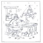 Allerhand Ausmalbilder - Pinokkio