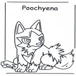 Ausmalbilder Comicfigure - Pokemon 1