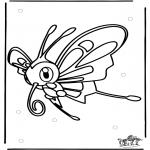 Ausmalbilder Comicfigure - Pokemon 10