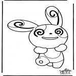 Ausmalbilder Comicfigure - Pokemon 13