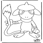 Ausmalbilder Comicfigure - Pokemon 15
