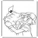 Ausmalbilder Comicfigure - Pokemon 2