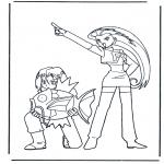 Ausmalbilder Comicfigure - Pokemon 3