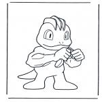 Ausmalbilder Comicfigure - Pokemon 5