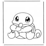 Ausmalbilder Comicfigure - Pokemon 6