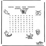 Malvorlagen Basteln - Pokemon Puzzle 2