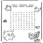 Malvorlagen Basteln - Pokemon Puzzle 3