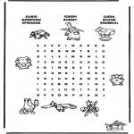 Malvorlagen Basteln - Pokemon Puzzle 8