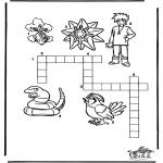Malvorlagen Basteln - Pokemon Puzzle 9