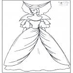 Allerhand Ausmalbilder - Prinzessin 1