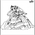 Allerhand Ausmalbilder - Prinzessin 10