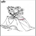 Allerhand Ausmalbilder - Prinzessin 5