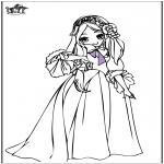 Allerhand Ausmalbilder - Prinzessin 7