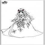Allerhand Ausmalbilder - Prinzessin 8