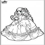 Allerhand Ausmalbilder - Prinzessin 9