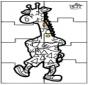 Puzzl Girafe