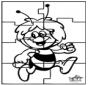 Puzzle Biene Maja