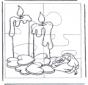 Puzzle Kerzen