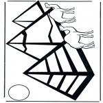 Allerhand Ausmalbilder - Pyramiden