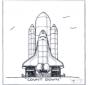 Rakete Lanzierung