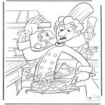 Ausmalbilder Comicfigure - Ratatouille 1