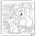 Ausmalbilder Comicfigure - Ratatouille 9