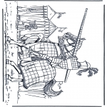 Allerhand Ausmalbilder - Ritter 1