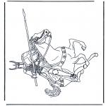 Allerhand Ausmalbilder - Ritter 2