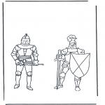 Allerhand Ausmalbilder - Ritter