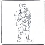 Allerhand Ausmalbilder - Römischer Mann