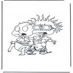 Ausmalbilder Comicfigure - Rugrats 3