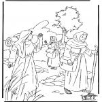 Bibel Ausmalbilder - Rut 1